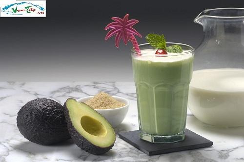 sinh tố bơ bổ dưỡng với máy ép trái cây khaluck kl-3169