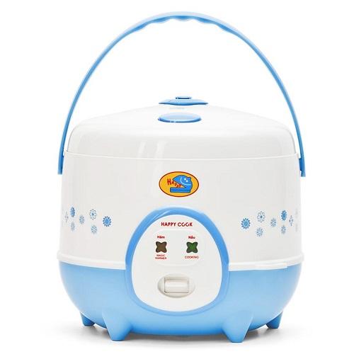 Nồi cơm điện Happy Cook HC-120 1.2l (Trắng phối xanh)