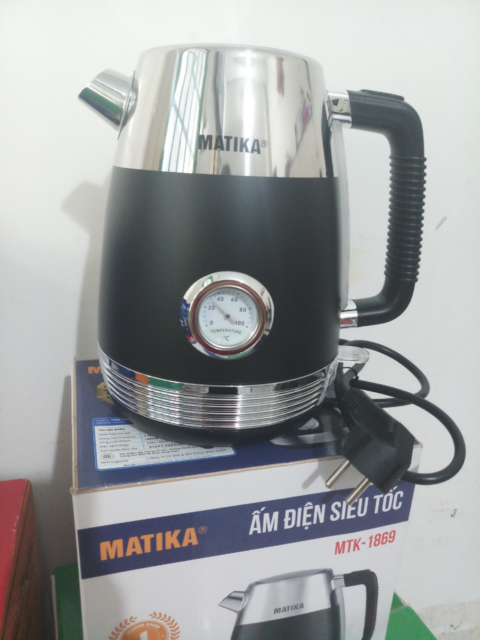 Ấm siêu tốc Matika MTK-1869